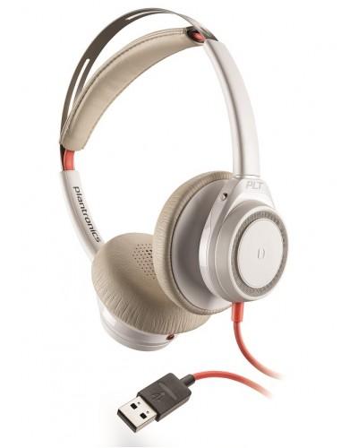 Plantronics Blackwire 7225 sand USB-C [211155-01] - Гарнитура USB, песочная, белая