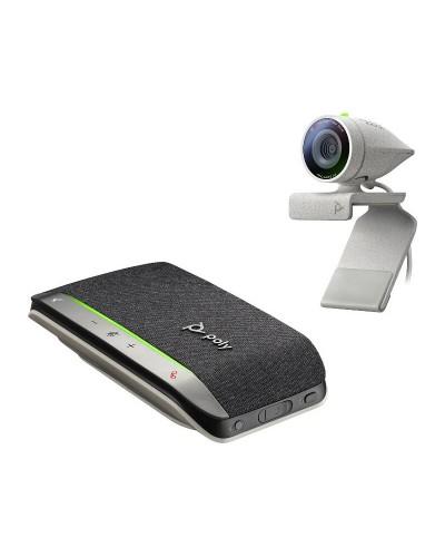 Poly Studio P5 with Poly Sync 20+ [USB-A] - Комплект из веб-камеры и беспроводного громкоговорителя (Polycom)