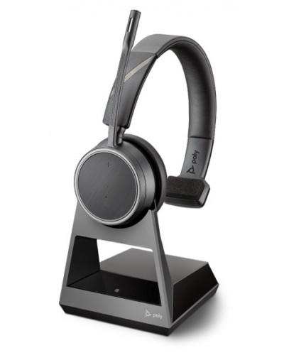 Poly Voyager 4210 Office [212720-01] - Беспроводная гарнитура, 1-контактная база, стандартный кабель для зарядки