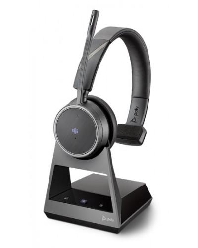 Poly Voyager 4210 Office [214002-01] - Беспроводная гарнитура, 2-контактная база, Microsoft Teams, USB-A