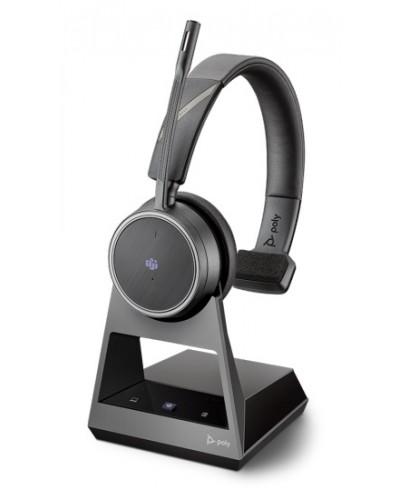 Poly Voyager 4210 Office [214601-01] - Беспроводная гарнитура, 2-контактная база, Microsoft Teams, USB-C
