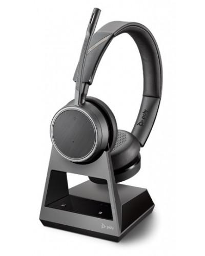 Poly Voyager 4220 Office [214592-01] - Беспроводная гарнитура, 2-контактная база, USB-C