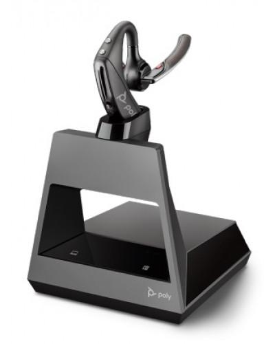 Poly Voyager 5200 Office [214593-01] - Беспроводная гарнитура, 2-контактная база, USB-C