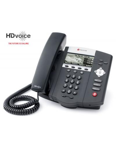 Polycom SoundPoint IP 450 - Настольный IP-телефон на три линии для корпоративных пользователей