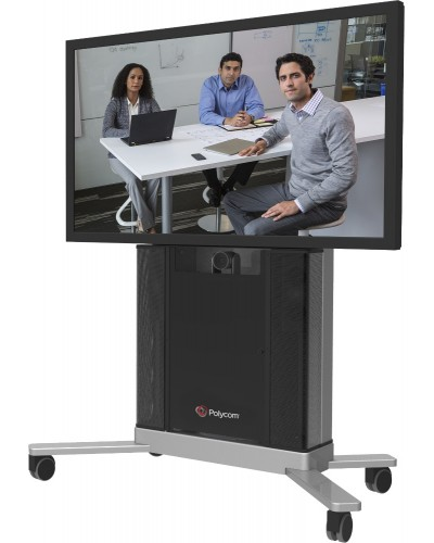 Polycom Group 500 Media Center Single [2215-26942-001] - Комплект для монтажа в стойку Media Cart