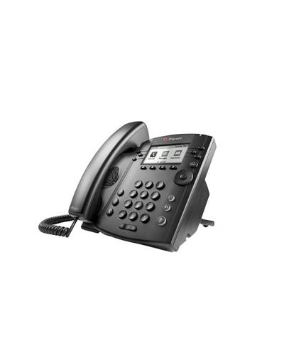 Polycom VVX 310 -  Бизнес медиа телефон с монохромным дисплеем, поддерживающий 6 линий и Polycom HD Voice